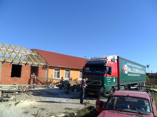 veilig lossen vrachtwagen